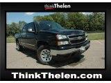 2007 Black Chevrolet Silverado 1500 Classic LS Crew Cab 4x4 #52396371