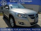 2011 White Gold Metallic Volkswagen Tiguan SE #52396406