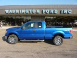 2011 Blue Flame Metallic Ford F150 XLT SuperCab 4x4 #52438667