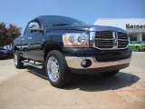 Brilliant Black Crystal Pearl Dodge Ram 1500 in 2006