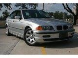 1999 Titanium Silver Metallic BMW 3 Series 323i Sedan #52438698