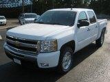 2011 Summit White Chevrolet Silverado 1500 LT Crew Cab 4x4 #52454184