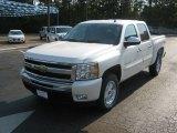 2011 White Diamond Tricoat Chevrolet Silverado 1500 LT Crew Cab 4x4 #52454185