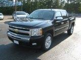 2011 Black Chevrolet Silverado 1500 LT Crew Cab #52454186