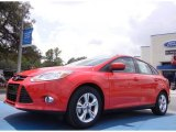 2012 Race Red Ford Focus SE Sport Sedan #52453358
