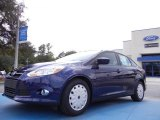 2012 Kona Blue Metallic Ford Focus SE SFE Sedan #52453359