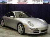 2007 Arctic Silver Metallic Porsche 911 Carrera S Coupe #52453659