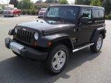 2011 Black Jeep Wrangler Sahara 4x4 #52454227