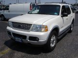 2002 Ford Explorer White Pearl