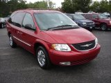 2004 Chrysler Town & Country Deep Molten Red Pearlcoat