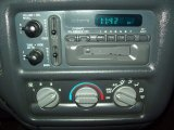 1998 Chevrolet S10 LS Extended Cab Controls