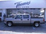 2007 Graystone Metallic Chevrolet Silverado 1500 Classic LS Crew Cab #52453989