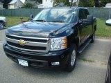 2011 Black Chevrolet Silverado 1500 LTZ Crew Cab 4x4 #52453442