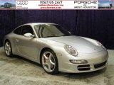2007 Arctic Silver Metallic Porsche 911 Carrera S Coupe #52453715