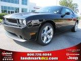 2011 Black Dodge Challenger SE #52453467