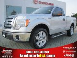 2010 Ingot Silver Metallic Ford F150 XLT Regular Cab #52453477