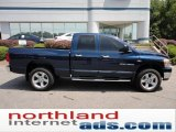 2007 Patriot Blue Pearl Dodge Ram 1500 SLT Quad Cab 4x4 #52453215