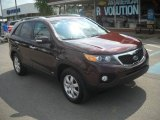 2011 Dark Cherry Kia Sorento LX AWD #52453551