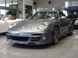 2012 Meteor Grey Metallic Porsche 911 Turbo S Coupe #52453267