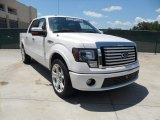2011 White Platinum Metallic Tri-Coat Ford F150 Limited SuperCrew #52453565