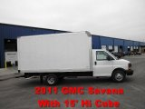 2011 GMC Savana Cutaway 3500 Commercial Moving Truck