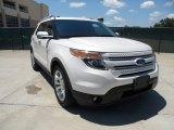 2011 White Platinum Tri-Coat Ford Explorer Limited #52453568