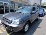 2004 Steel Blue Hyundai Santa Fe GLS 4WD #52454138