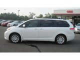 2011 Super White Toyota Sienna Limited #52453867