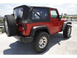 2007 Jeep Wrangler Flame Red