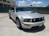 2007 Satin Silver Metallic Ford Mustang GT Premium Convertible #52453600