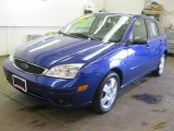 2005 Sonic Blue Metallic Ford Focus ZX5 SES Hatchback #52547860