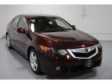 2009 Basque Red Pearl Acura TSX Sedan #52547706