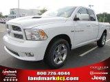 2011 Bright White Dodge Ram 1500 Sport Quad Cab #52547406