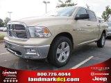 2011 White Gold Dodge Ram 1500 Big Horn Crew Cab 4x4 #52547408
