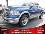2011 Deep Water Blue Pearl Dodge Ram 1500 Laramie Crew Cab #52547417
