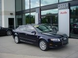 2008 Deep Sea Blue Pearl Effect Audi A4 2.0T quattro S-Line Sedan #52547451