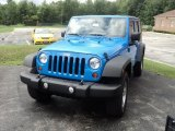 2011 Cosmos Blue Jeep Wrangler Unlimited Sport 4x4 #52547782