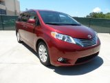2011 Salsa Red Pearl Toyota Sienna Limited #52547496