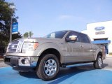 2011 Pale Adobe Metallic Ford F150 Lariat SuperCrew 4x4 #52547334