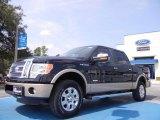 2011 Ebony Black Ford F150 Lariat SuperCrew 4x4 #52547337