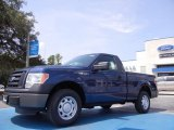 2011 Dark Blue Pearl Metallic Ford F150 XL Regular Cab #52547340