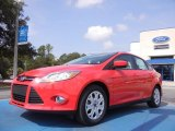 2012 Race Red Ford Focus SE Sedan #52547343