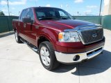 2006 Dark Toreador Red Metallic Ford F150 Lariat SuperCrew 4x4 #52547510