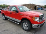 2011 Race Red Ford F150 XLT SuperCab 4x4 #52598336
