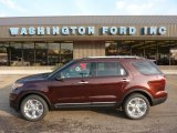 2012 Cinnamon Metallic Ford Explorer Limited 4WD #52598522