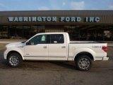 2011 Oxford White Ford F150 Platinum SuperCrew 4x4 #52598525