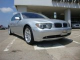 2003 Titanium Silver Metallic BMW 7 Series 745Li Sedan #52598696