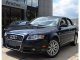 2008 Deep Sea Blue Pearl Effect Audi A4 2.0T quattro S-Line Sedan #52598396