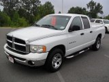 2003 Bright White Dodge Ram 1500 SLT Quad Cab #52598736