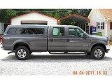 2004 Dark Shadow Grey Metallic Ford F250 Super Duty XL Crew Cab 4x4 #52598403
